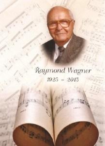 Carte remerciement Lion Raymond Wagner